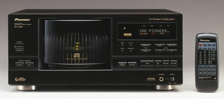 Cd multi disc player